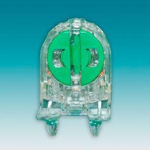 Soquete de encaixe para lâmpada fluorescente