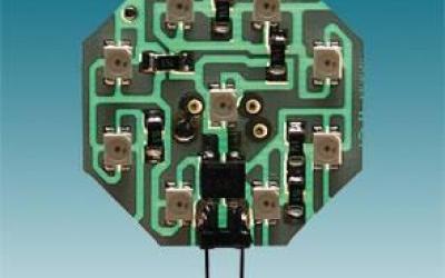 MODULO OCTAGONAL 9 LEDS VERMELHO P/A PLAFONIER